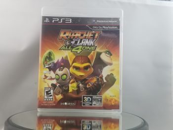 Ratchet & Clank All 4 One Front
