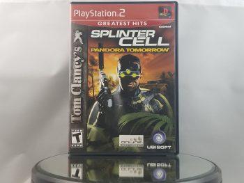 Splinter Cell Pandora Tomorrow Front