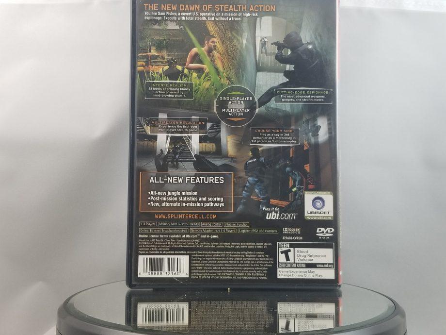 Splinter Cell Pandora Tomorrow Back