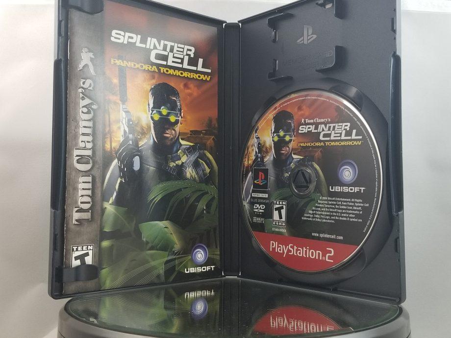 Splinter Cell Pandora Tomorrow Disc