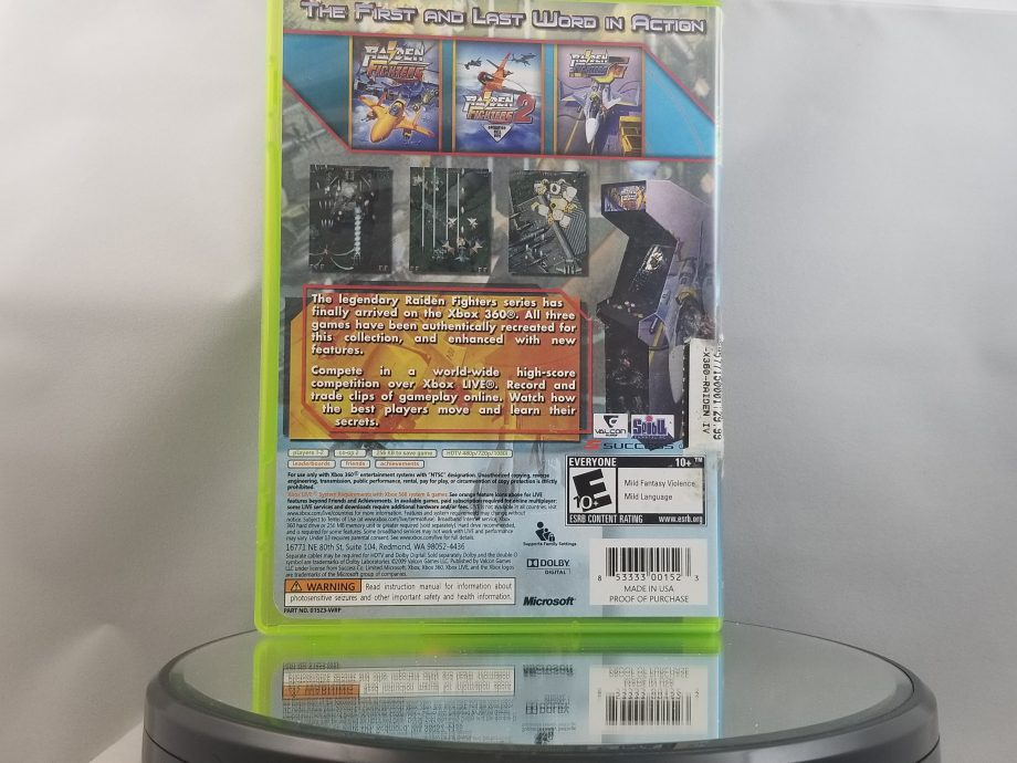 Raiden Fighters Aces Back