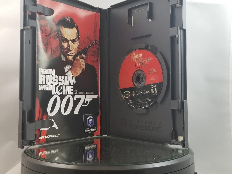 007 From Russia With Love Disc
