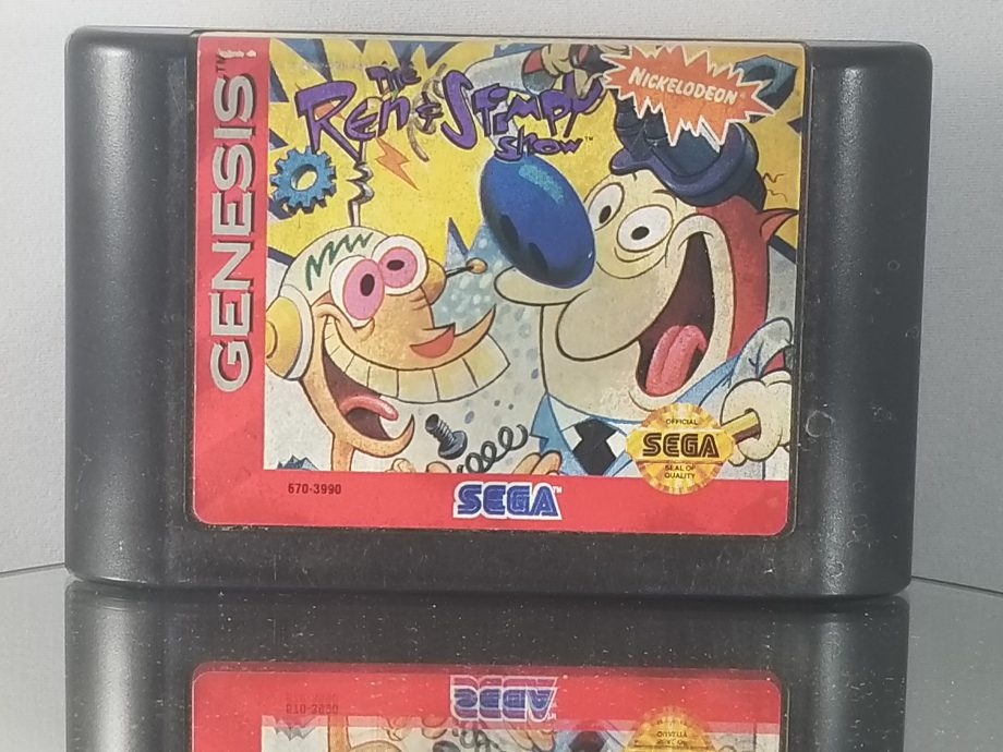 The Ren And Stimpy Show Stimpy's Invention Front