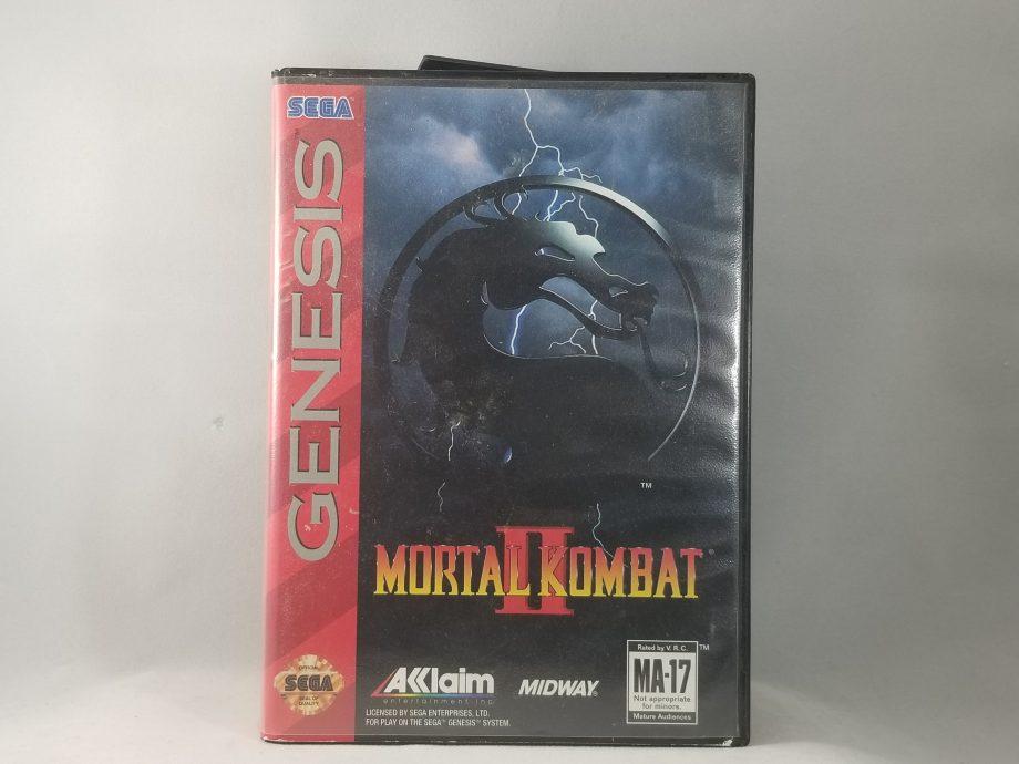 Mortal Kombat II Front