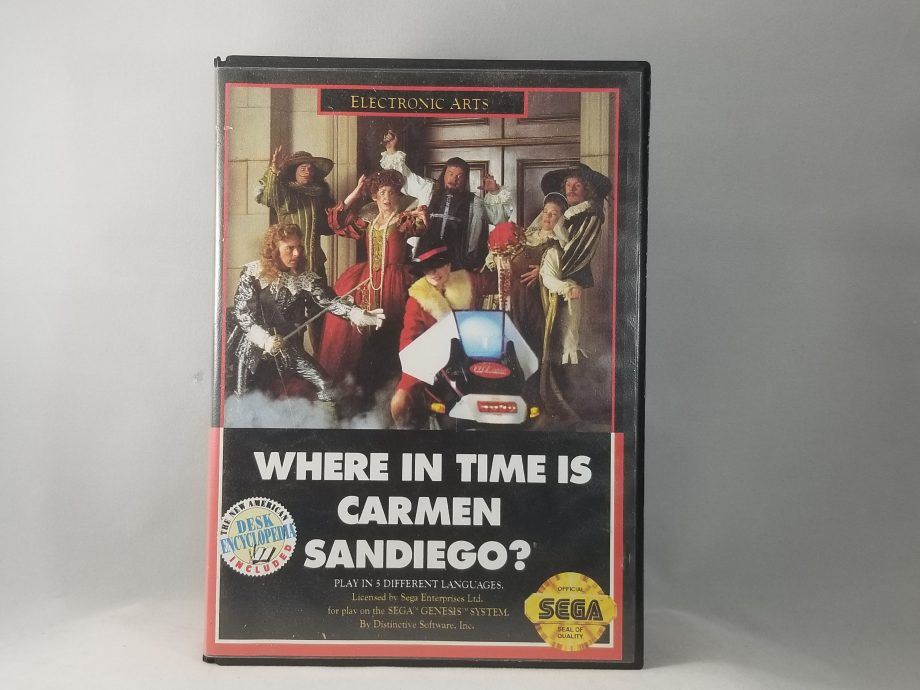 Where In Time Is Carmen Sandiego Front