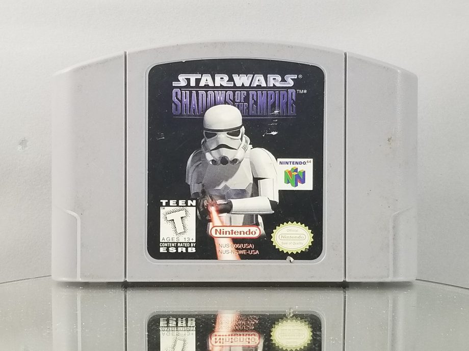 Star Wars Shadows Of The Empire Front