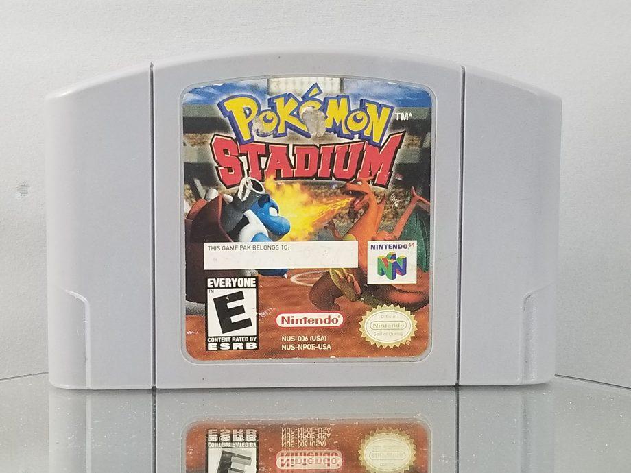 Pokemon Stadium & Transfer Pak Pose 1