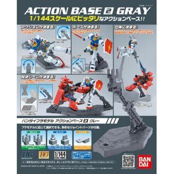 Gundam 1/144 Gray Action Base 2