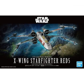 1/72 X-Wing Starfighter Red5 The Rise Of Skywalker Box