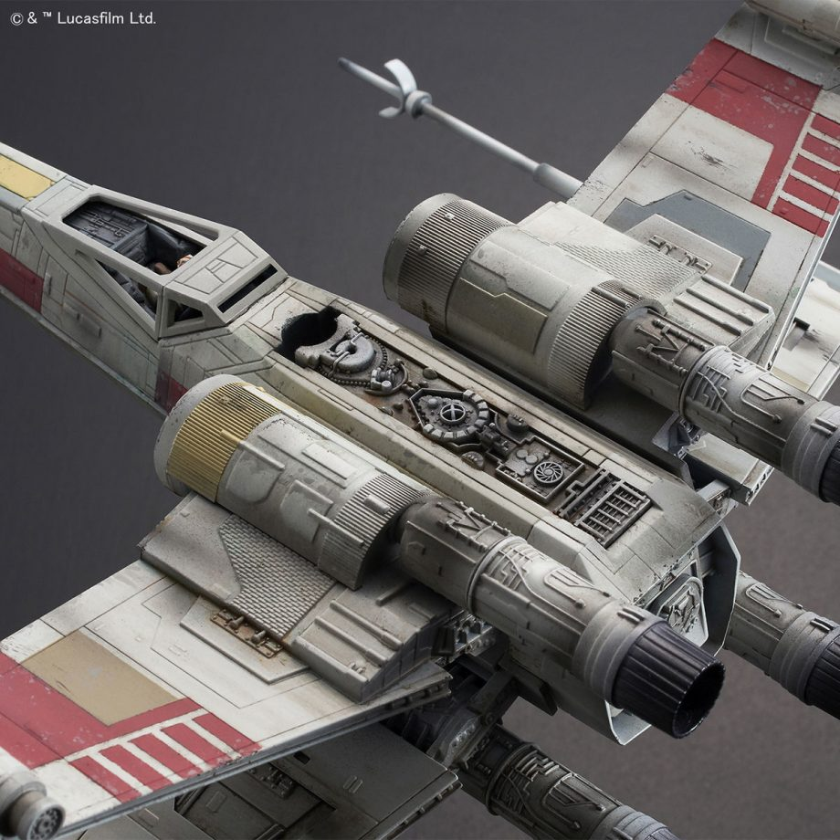 1/72 X-Wing Starfighter Red5 The Rise Of Skywalker Pose 8