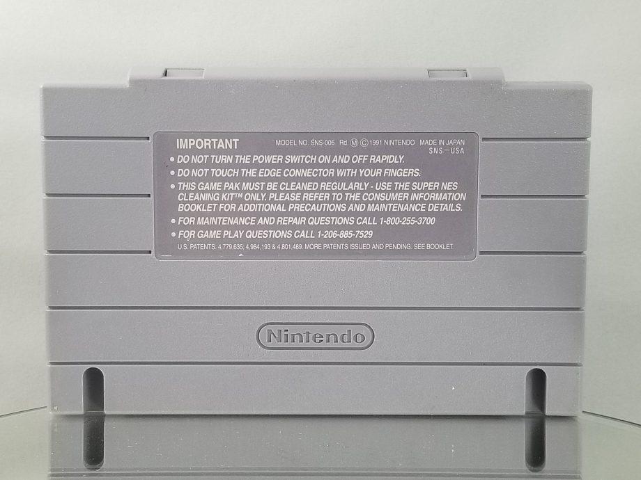 Super Mario World Back