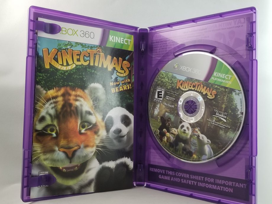 Kinectimals Disc