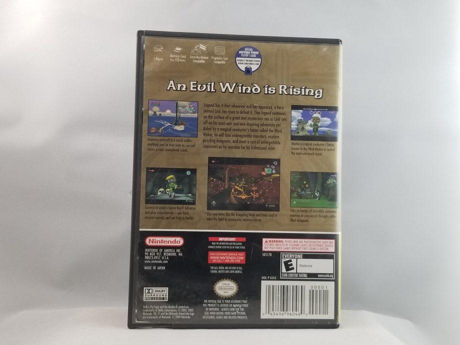 The Legend Of Zelda Wind Waker Back