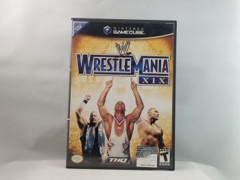 WWE Wrestlemania XIX Front