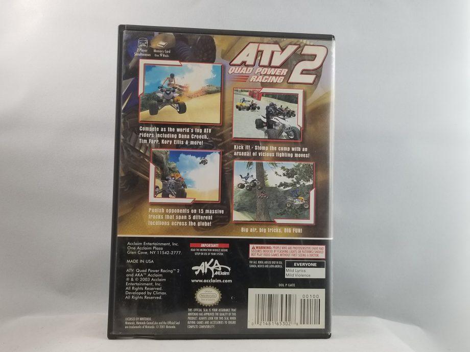 ATV Quad Power Racing 2 Back
