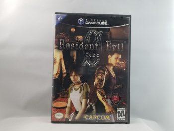 Resident Evil Zero Front