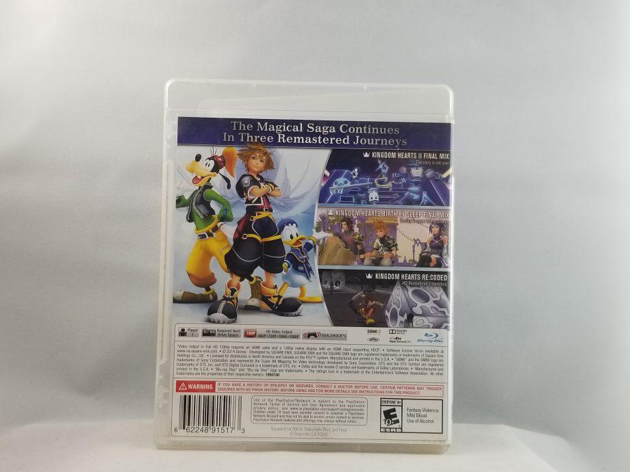 Kingdom Hearts HD 2.5 Remix Back