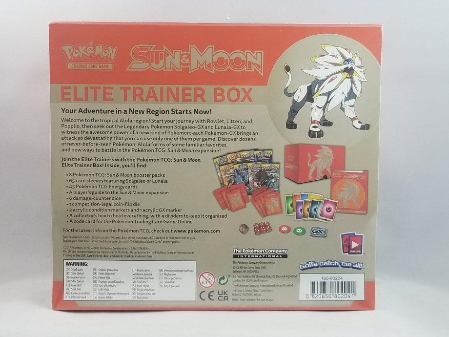Sun & Moon Elite Trainer Box Sun 2