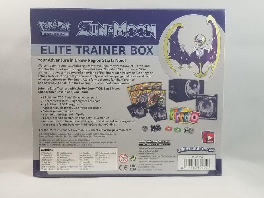 Sun & Moon Elite Trainer Box Moon 2