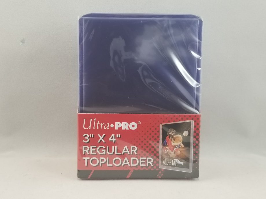 Ultra Pro Regular Top Loader 3 x 4 Front