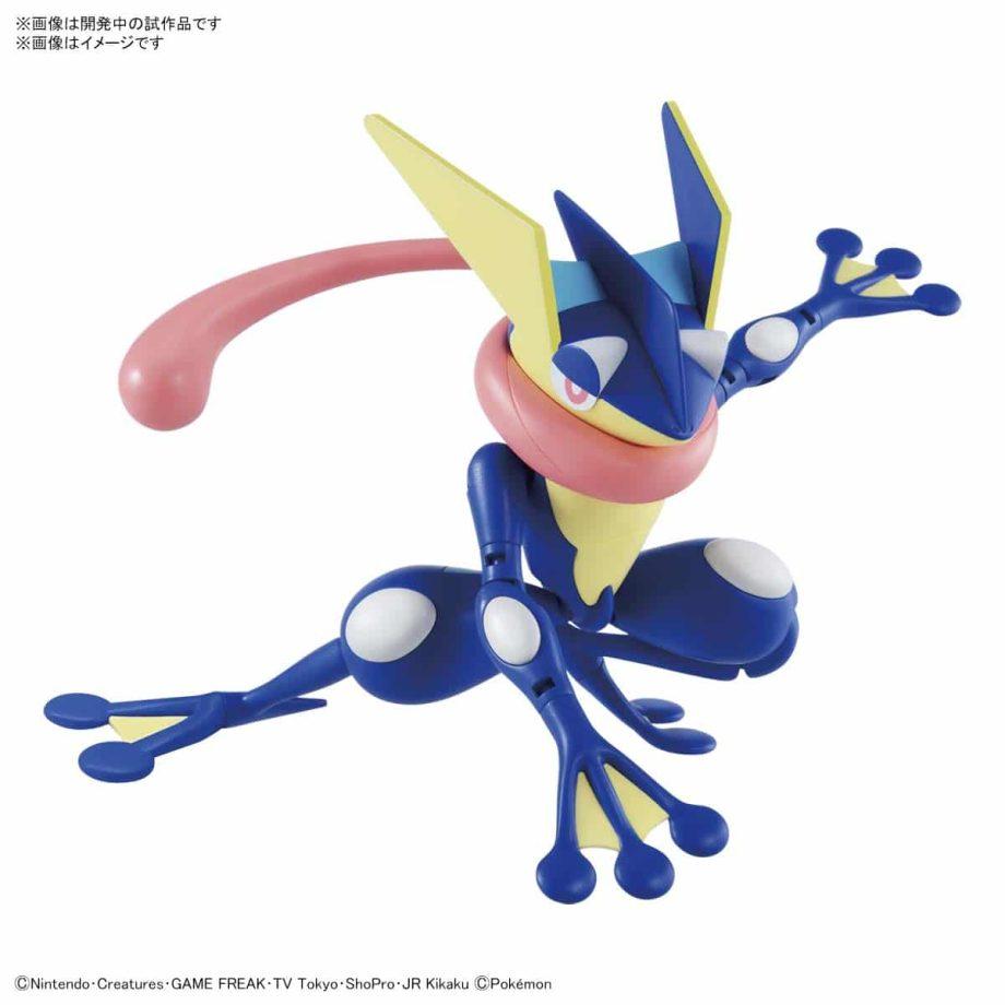 Pokemon Greninja Model Kit