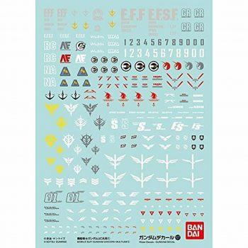 Gundam Decal 1/144 Mobile Suit Gundam Unicorn Multiuse 1 No. 107
