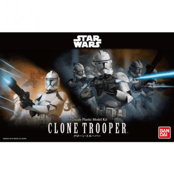 1/12 Clone Trooper Model Kit Box