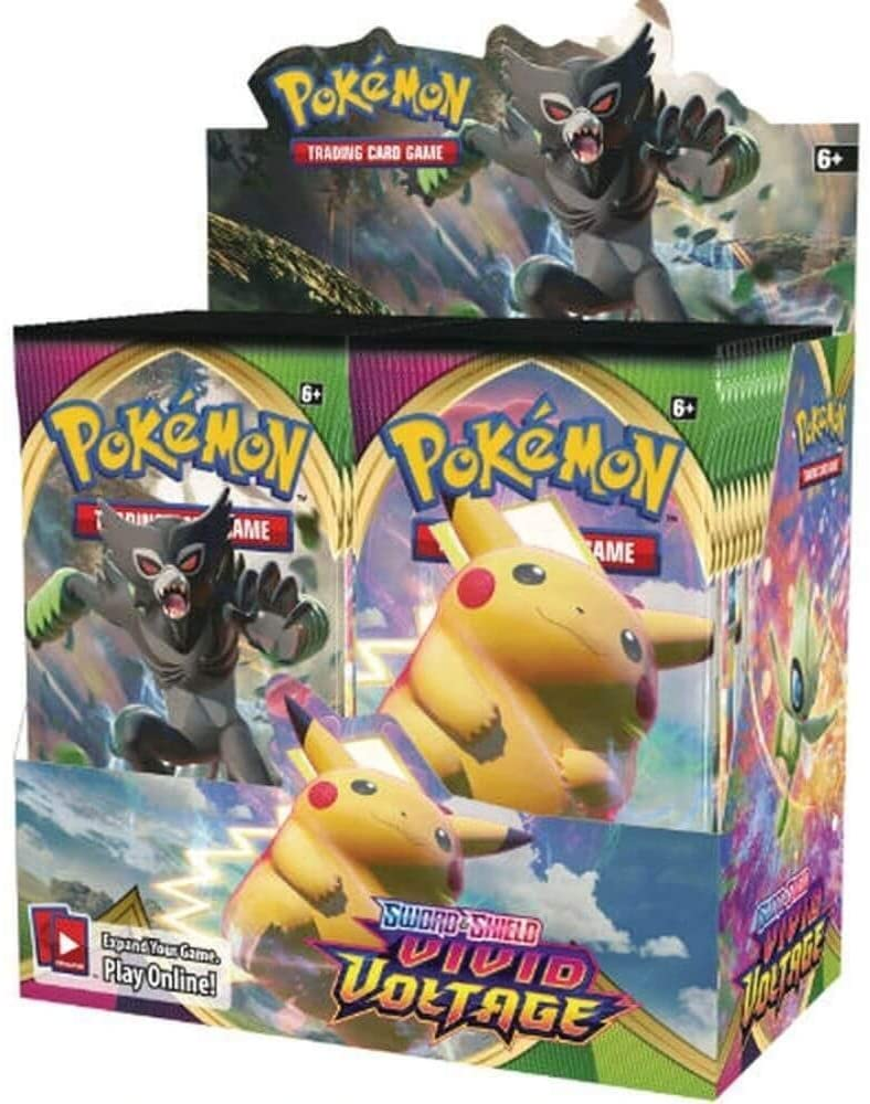 Pokemon Sword and Shield Vivid Voltage Booster Single Pack