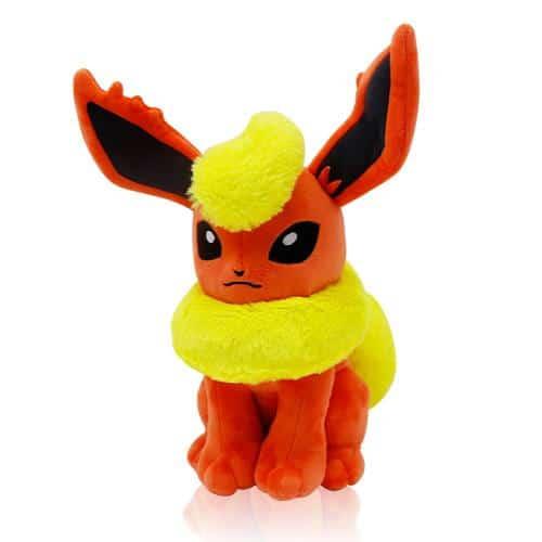 Pokemon Flareon Plushie Pose 1