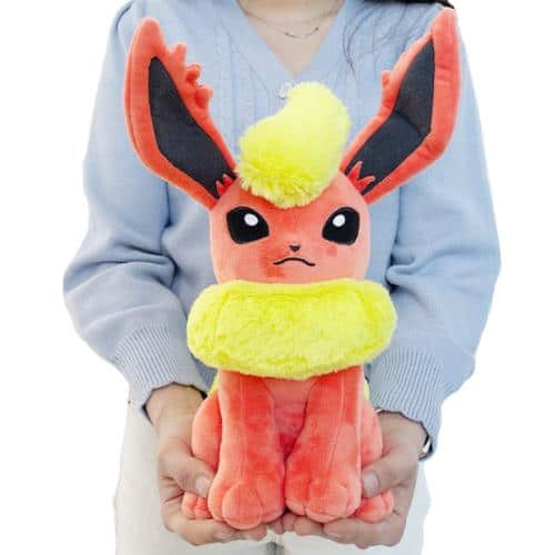 Pokemon Flareon Plushie Pose 2