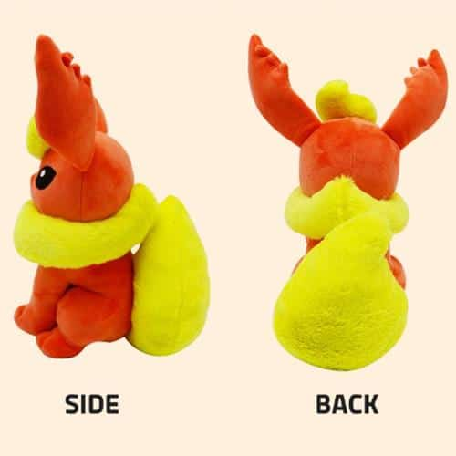 Pokemon Flareon Plushie Pose 3