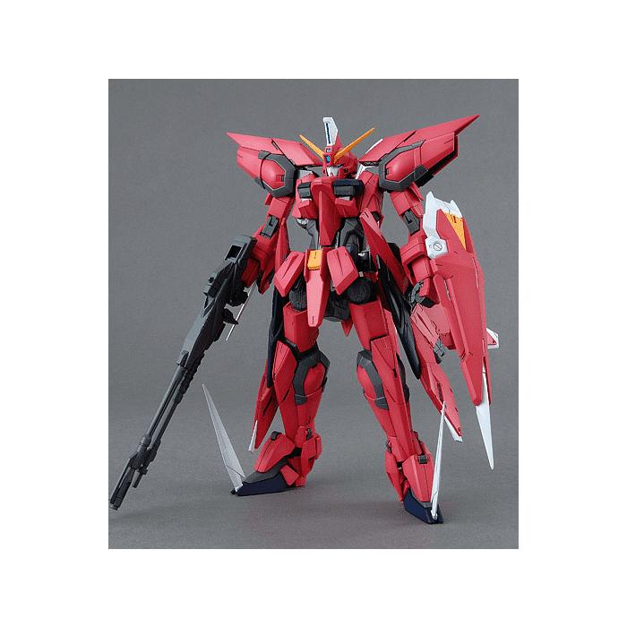 Master Grade Aegis Gundam Pose 1