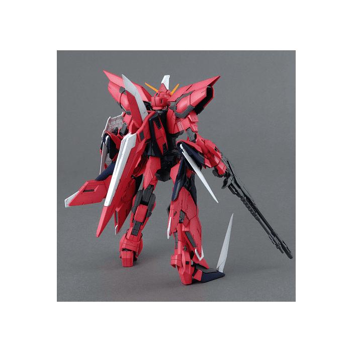 Master Grade Aegis Gundam Pose 2
