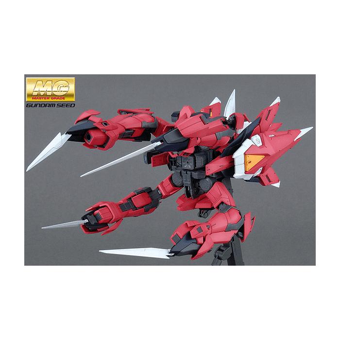 Master Grade Aegis Gundam Pose 6