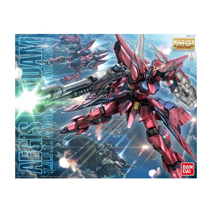 Master Grade Aegis Gundam Box