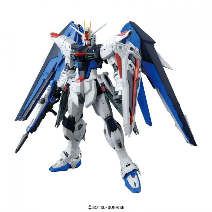 Master Grade Freedom Gundam Ver 2.0 Pose 1