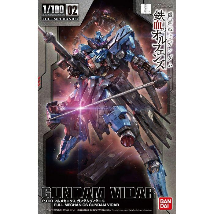 Full Mechanics 1/100 Gundam Vidar Box