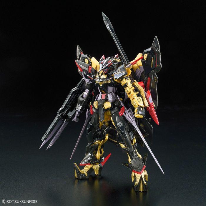 Real Grade Gundam Astray Gold Frame Amatsu Mina Pose 1