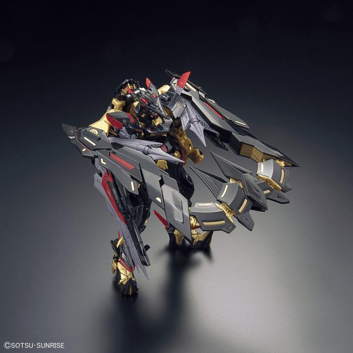 Real Grade Gundam Astray Gold Frame Amatsu Mina Pose 3
