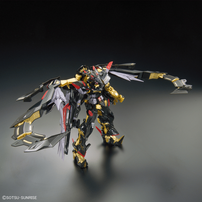 Real Grade Gundam Astray Gold Frame Amatsu Mina Pose 4