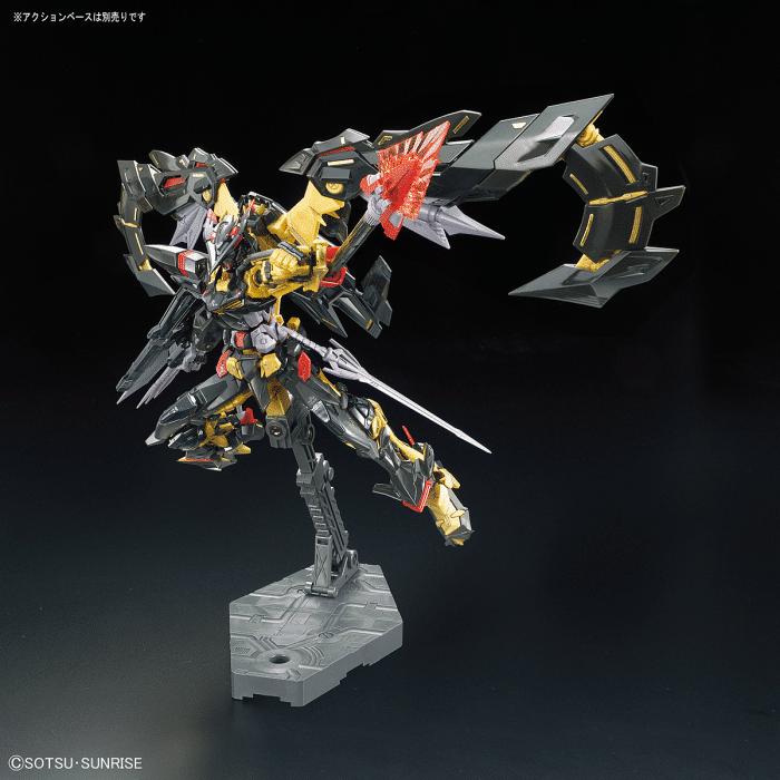 Real Grade Gundam Astray Gold Frame Amatsu Mina Pose 6