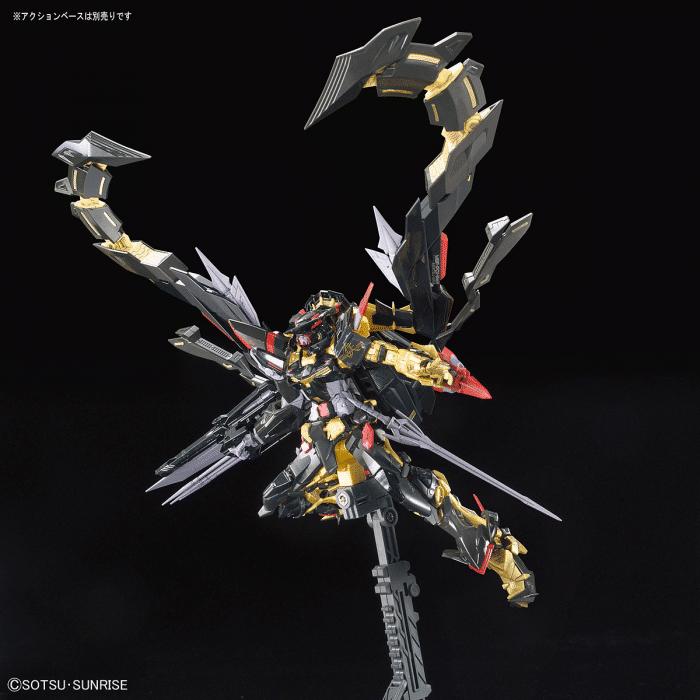 Real Grade Gundam Astray Gold Frame Amatsu Mina Pose 7