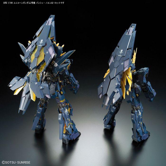Real Grade Unicorn Gundam 02 Banshee Norn Pose 7