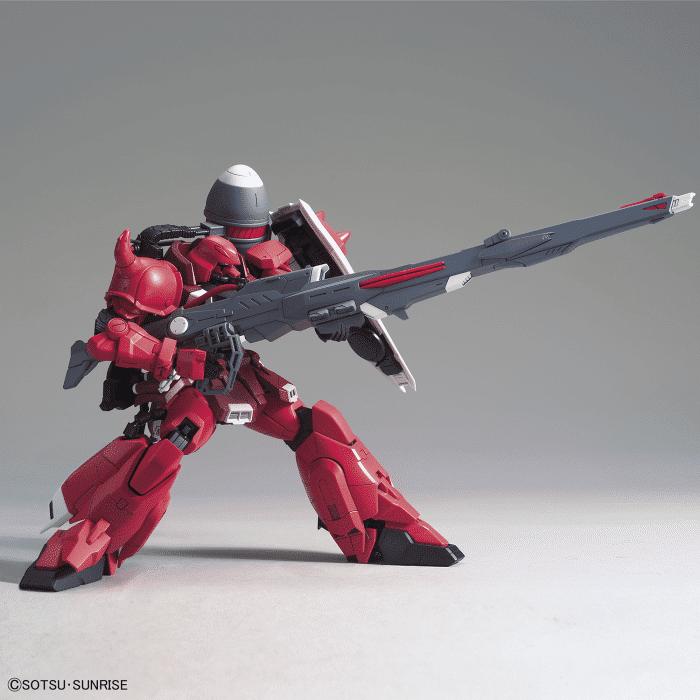Master Grade Gunner Zaku Warrior Lunamaria Hawke Custom Pose 3