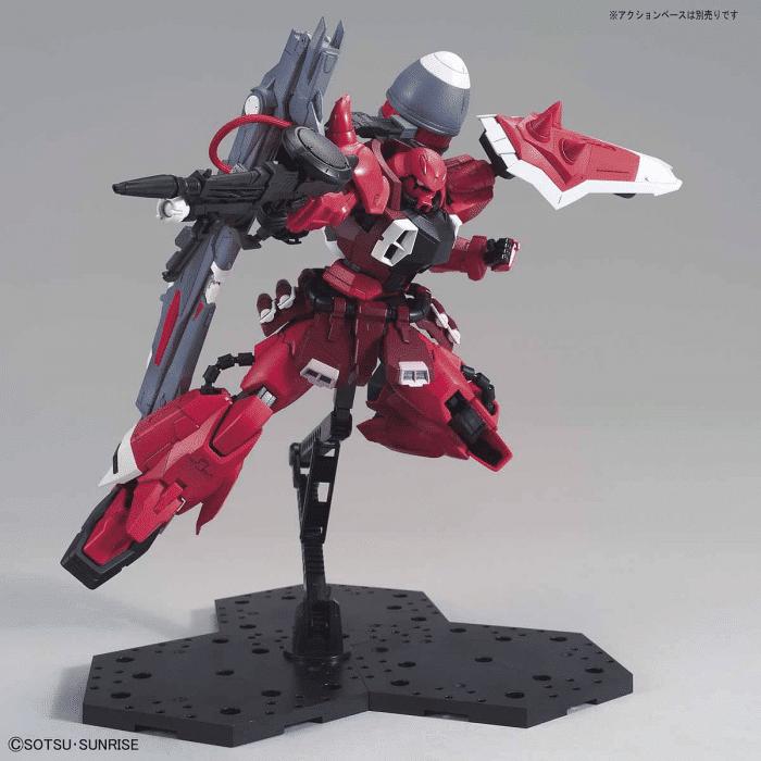Master Grade Gunner Zaku Warrior Lunamaria Hawke Custom Pose 6
