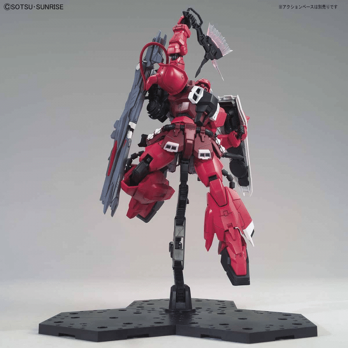 Master Grade Gunner Zaku Warrior Lunamaria Hawke Custom Pose 7