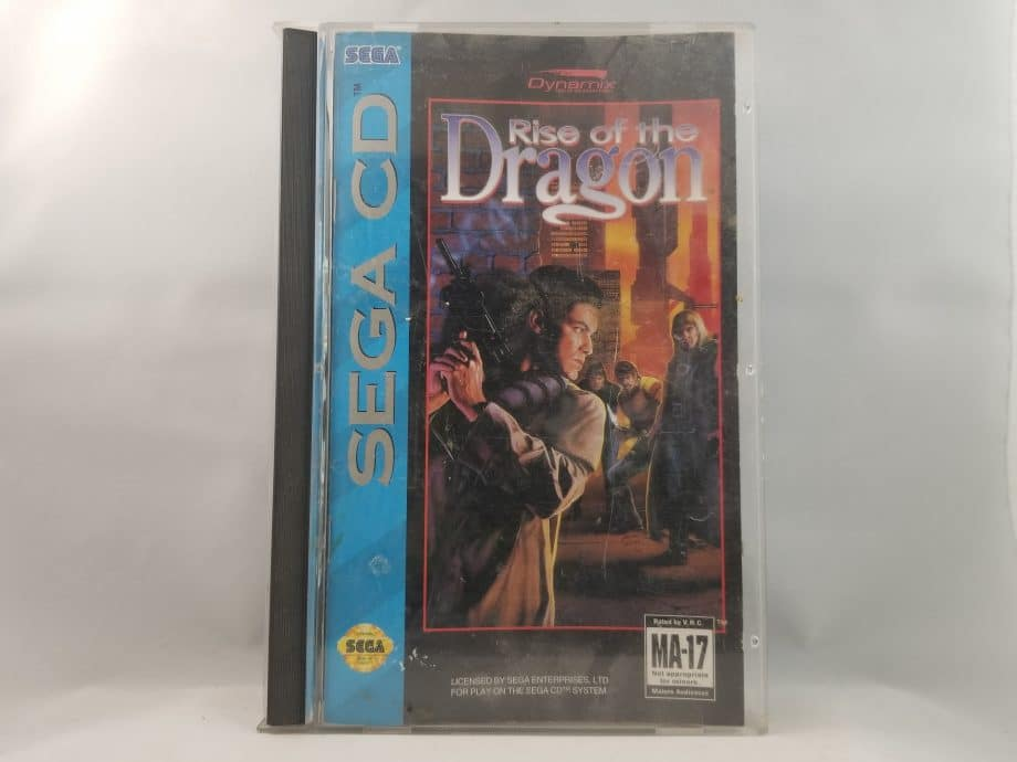 Rise Of The Dragon Front