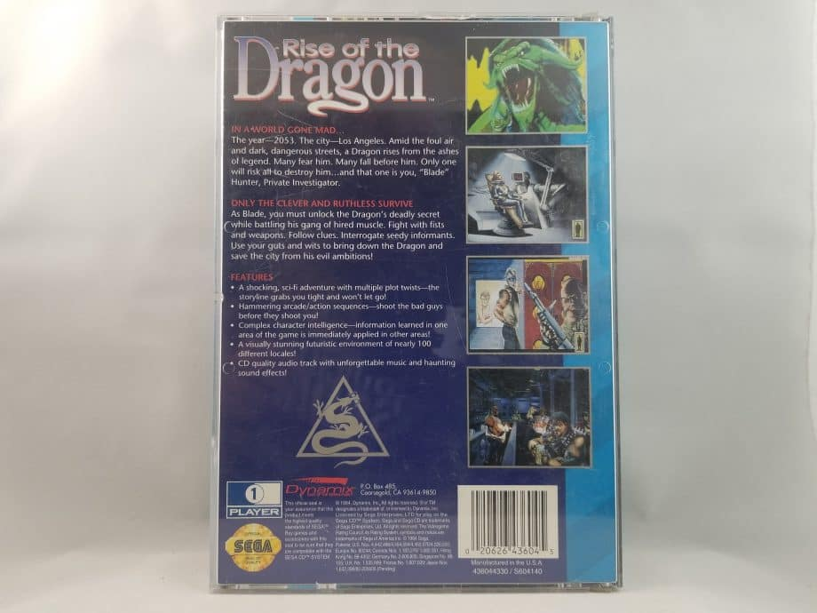 Rise Of The Dragon Back
