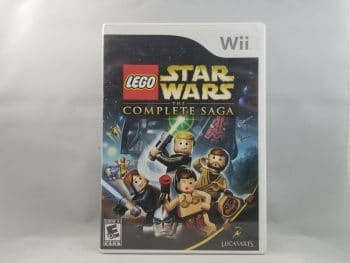 LEGO Star Wars The Complete Saga Front