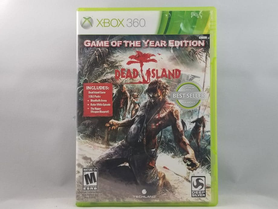 Dead Island Game Of The Year Edition Front